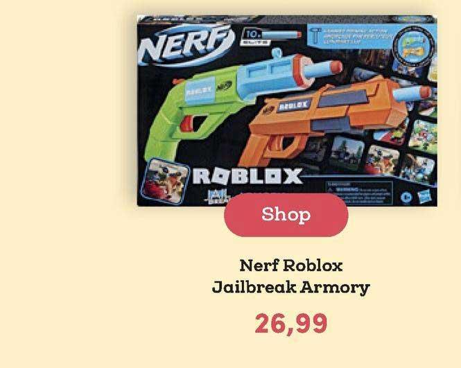 BookSpot Nerf Roblox Jailbreak Armory