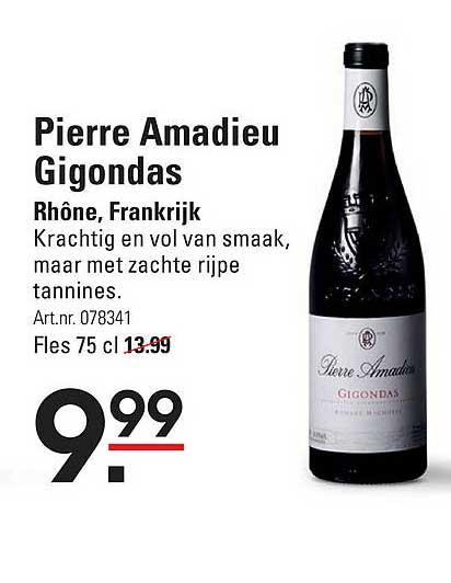 Sligro Pierre Amadieu Gigondas Rhône, Frankrijk