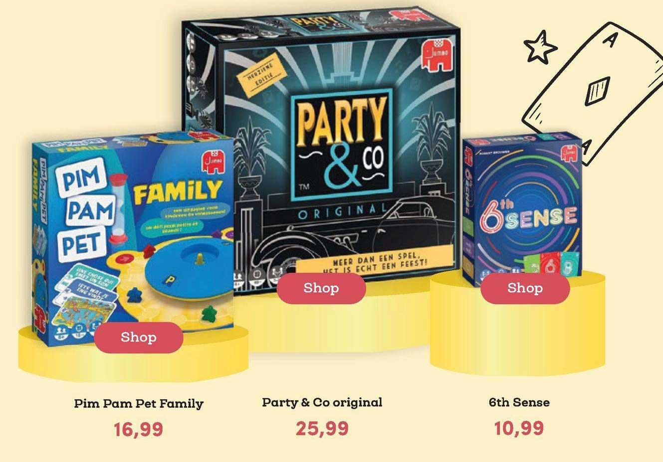 BookSpot Pim Pam Pet Family, Party & Co Original Of 6th Sense