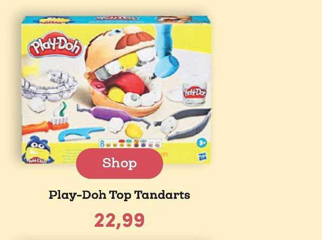 BookSpot Play-Doh Top Tandarts