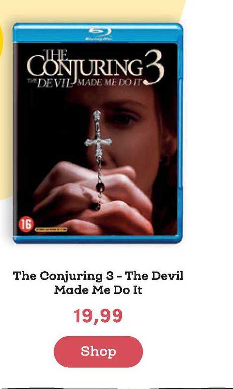 BookSpot The Conjuring 3 - The Devil Made Me Do It