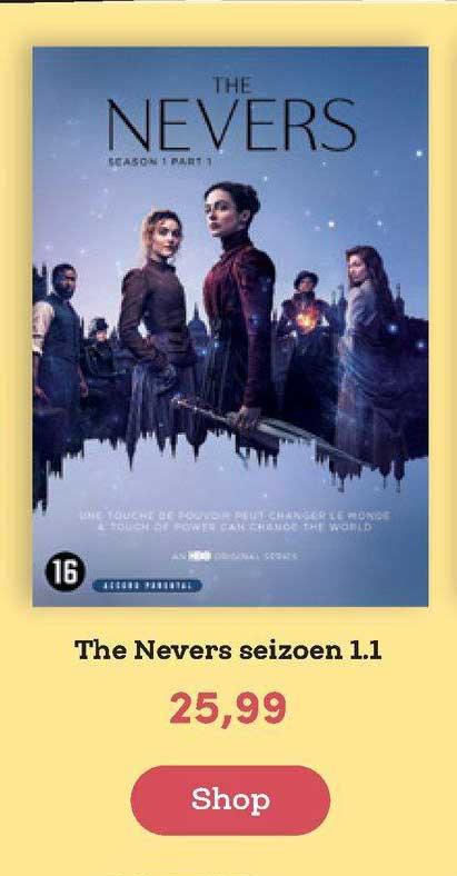BookSpot The Nevers Seizoen 1.1