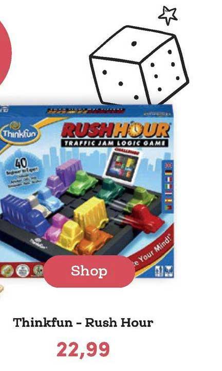 BookSpot Thinkfun - Rush Hour
