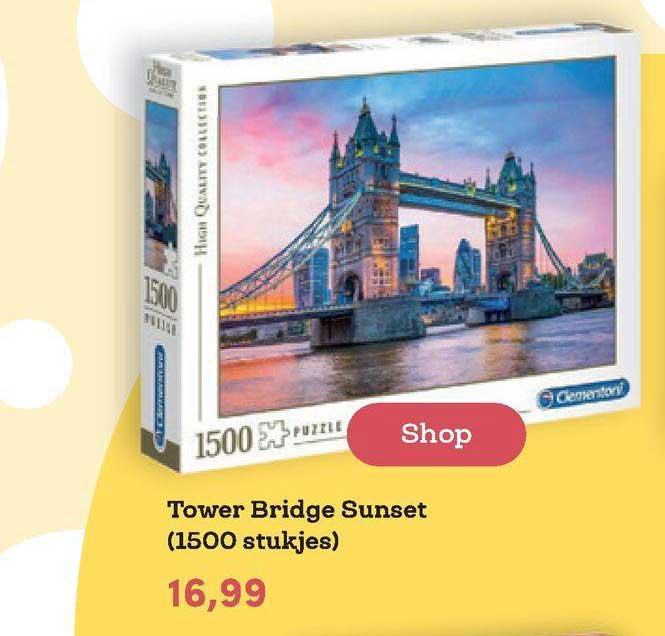 BookSpot Tower Bridge Sunset (1500 Stukjes)