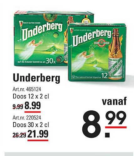 Sligro Underberg