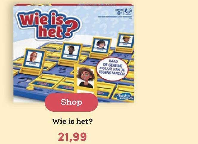 BookSpot Wie Is Het?