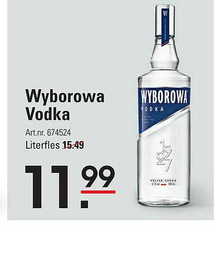 Sligro Wyborowa Vodka