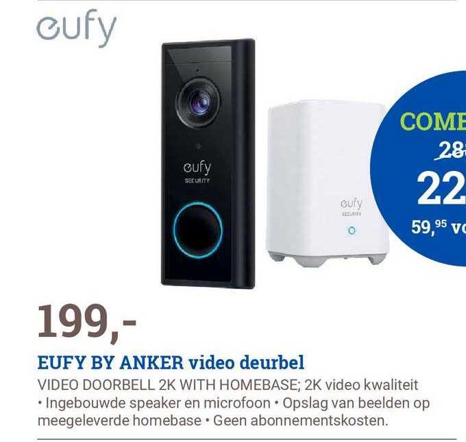 BCC Eufy By Anker Video Deurbel