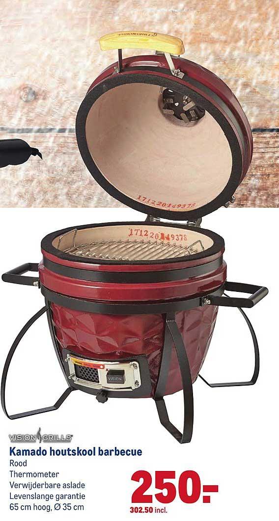 Makro Kamado Houtskool Barbecue