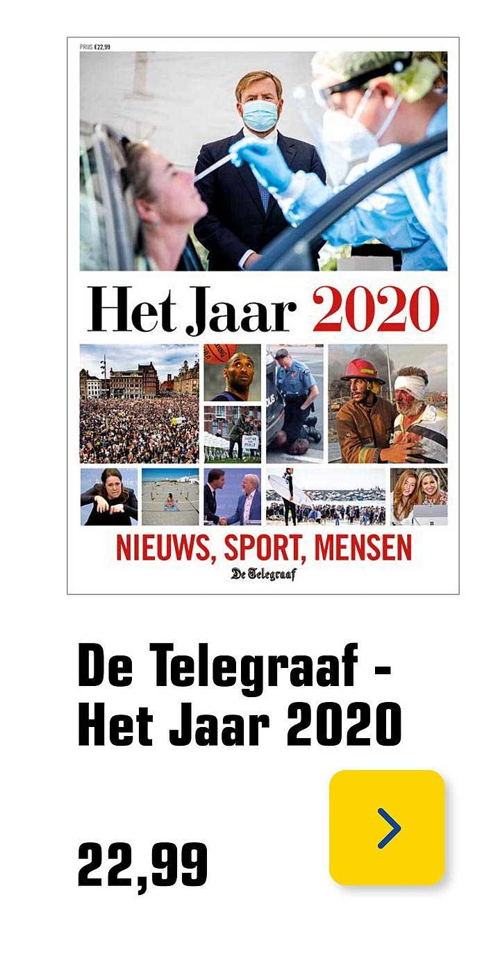 Primera De Telegraaf Het Jaar 2020