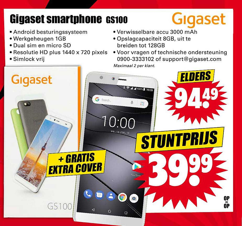 Dirk Gigaset Smartphone GS100