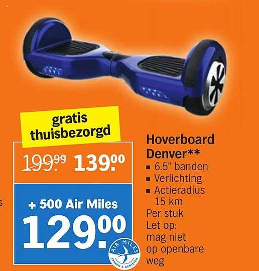 Albert Heijn Hoverboard Denver