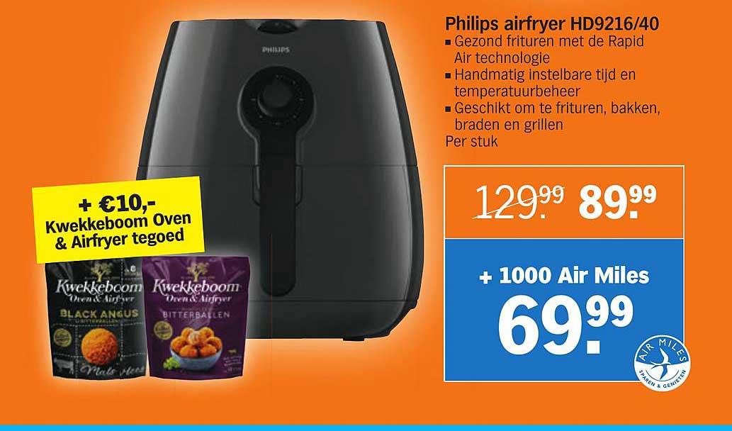 Albert Heijn Philips Airfryer HD9216-40