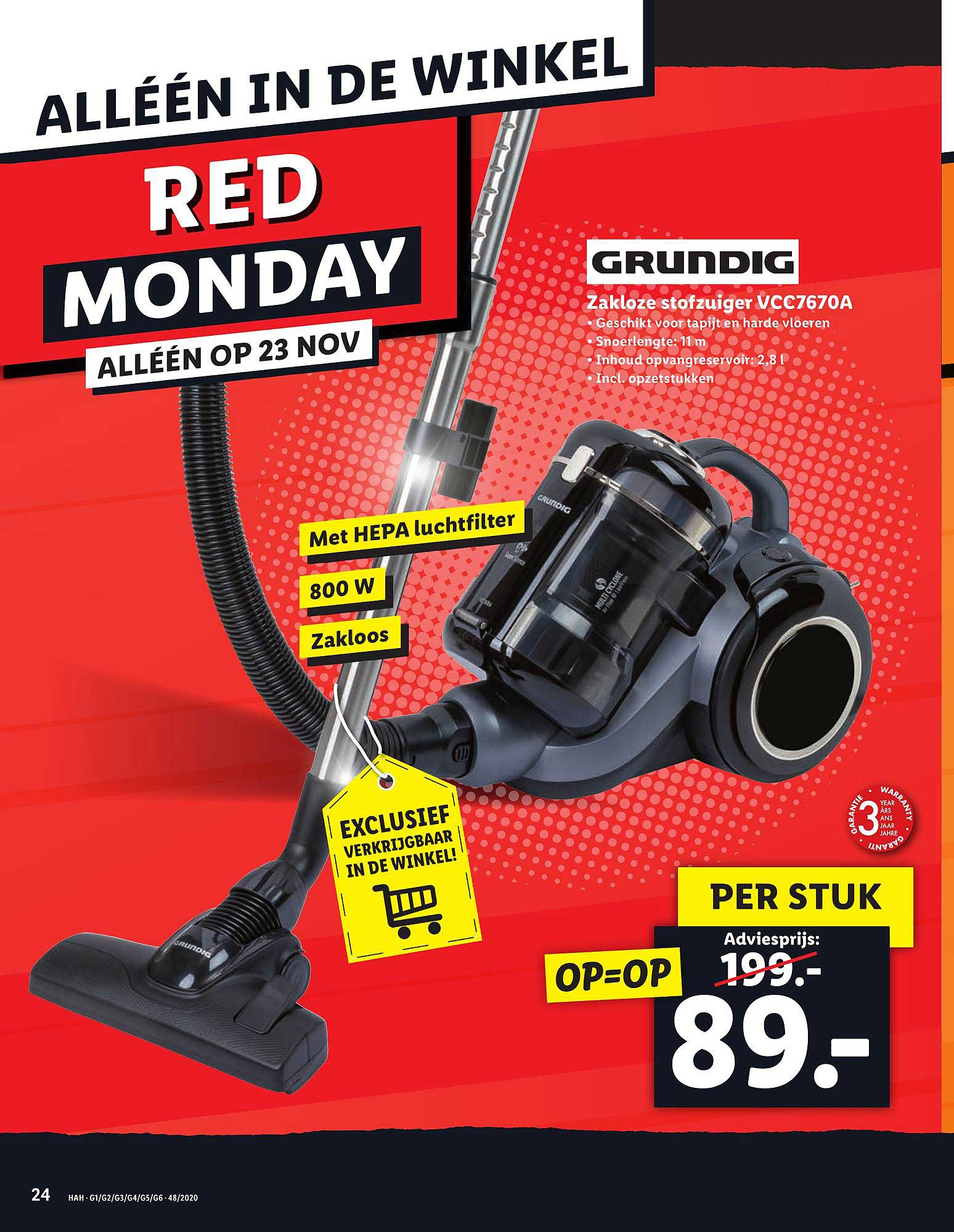 Lidl Red Monday