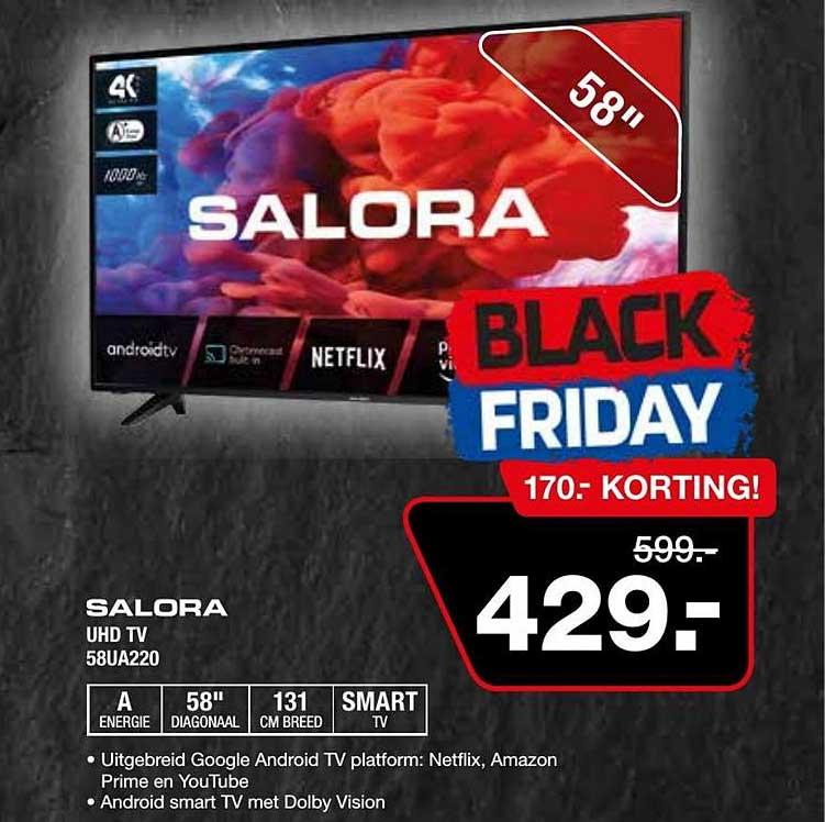 Electro World Salora UHD TV 58UA220