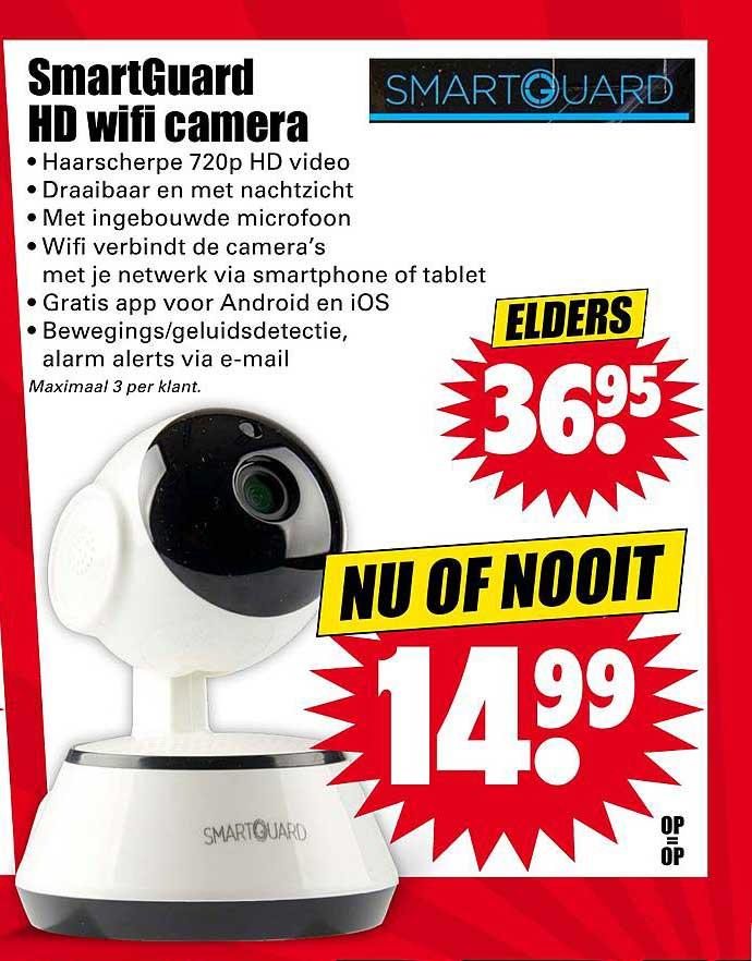 Dirk SmartGuard HD Wifi Camera