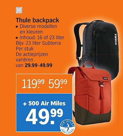 Albert Heijn Thule Backpack