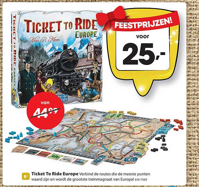 Top 1 Toys Ticket To Ride Europe