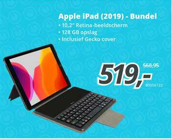 Paradigit Apple Ipad 2019 - Bundel