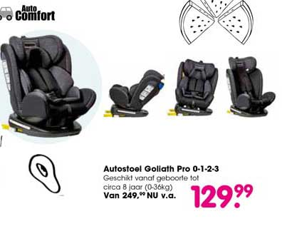Van Asten Autostoel Goliath Pro 0-1-2-3