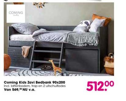 Van Asten Coming Kids Zavi Bedbank 90x200