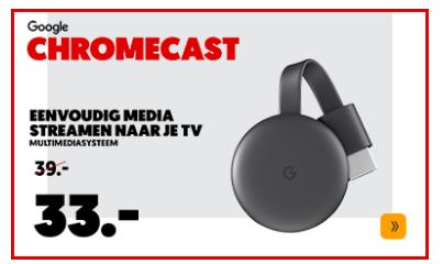 Mediamarkt Google Chromecast