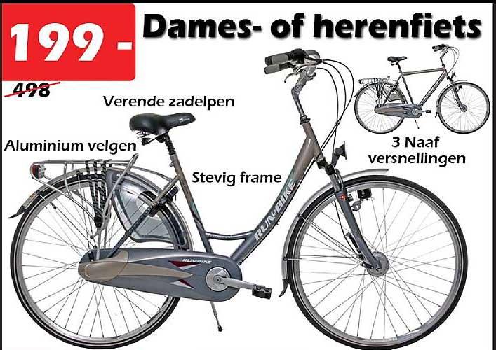 ITEK Dames- Of Herenfiets