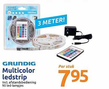 Action Grundig Multicolor Ledstrip