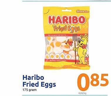 Action Haribo Fried Eggs