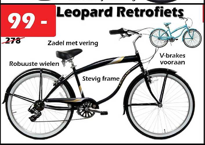ITEK Leopard Retrofiets