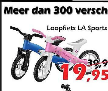 ITEK Loopfiets LA Sports