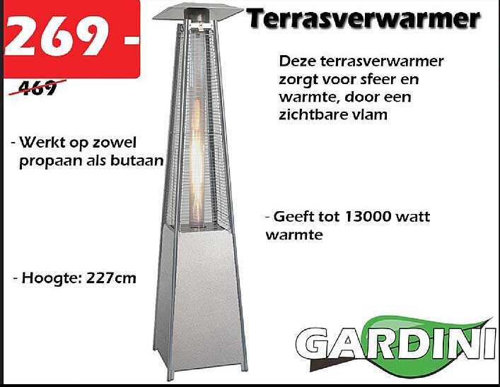 ITEK Terrasverwarmer
