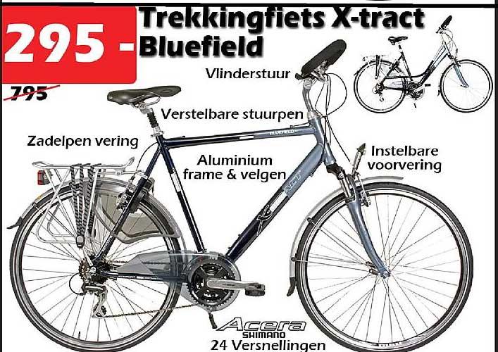 ITEK Trekkingfiets X-tract Bluefield
