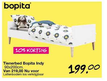 Van Asten Tienerbed Bopita Indy 90x200cm 10% Korting