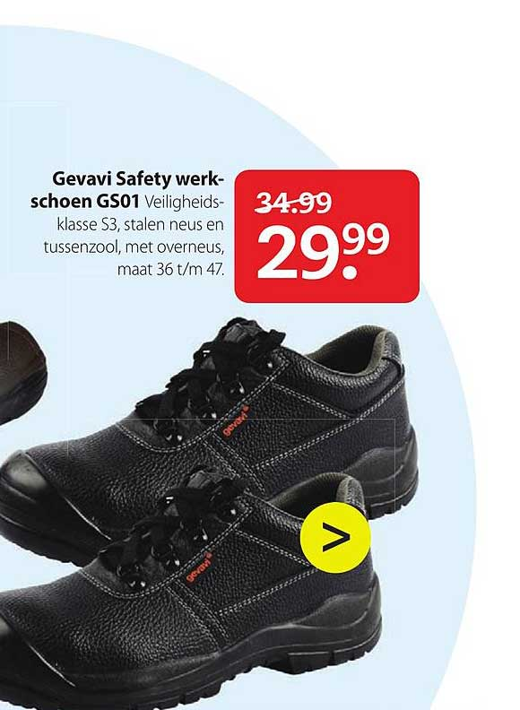 Boerenbond Gevavi Safety Werkschoenen GS01