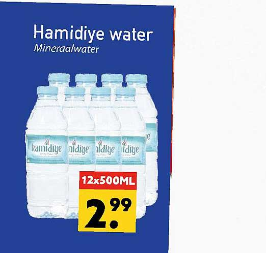 Tanger Markt Hamidiye Water Mineraalwater