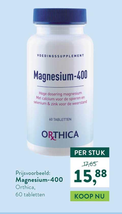 Holland & Barrett Orthica Magnesium-400
