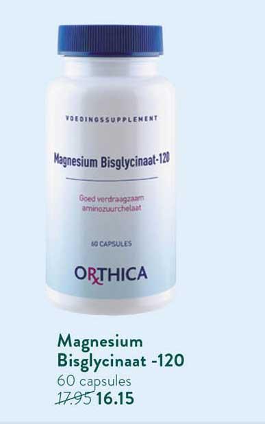 Holland & Barrett Orthica Magnesium Bisglycinaat -120