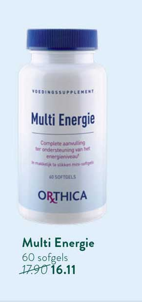 Holland & Barrett Orthica Multi Energie