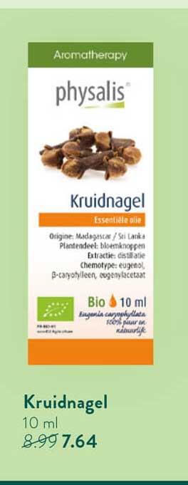 Holland & Barrett Physalis Kruidnagel