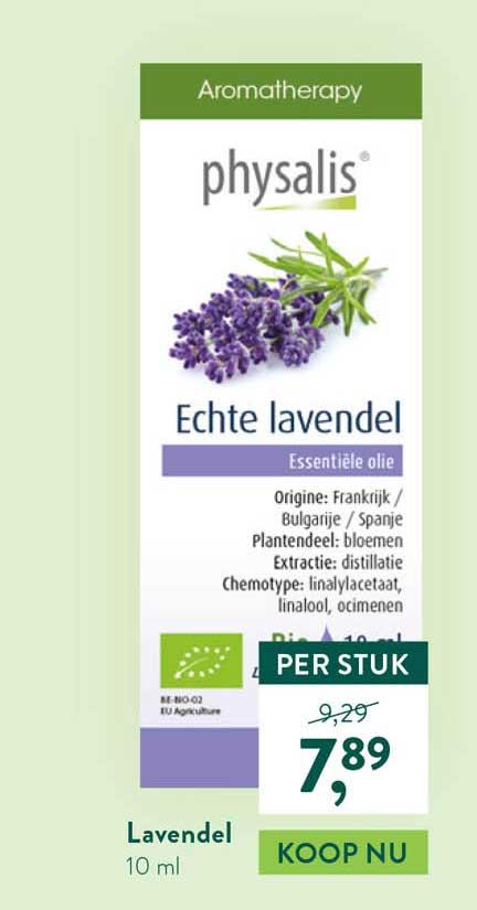 Holland & Barrett Physalis Lavendel