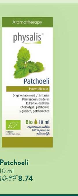 Holland & Barrett Physalis Patchoeli