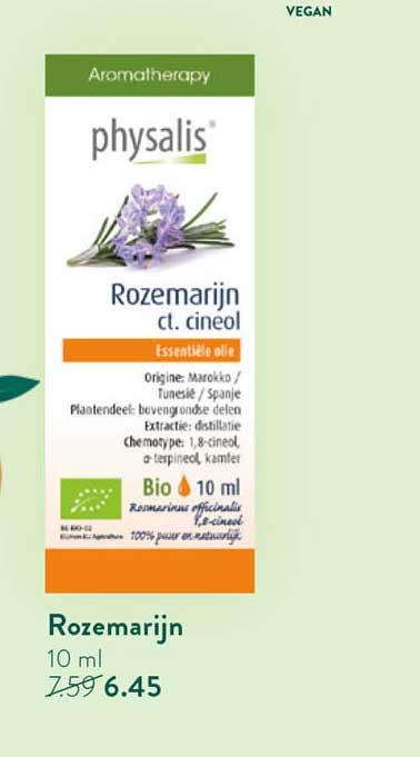Holland & Barrett Physalis Rozemarijn Ct. Cineol