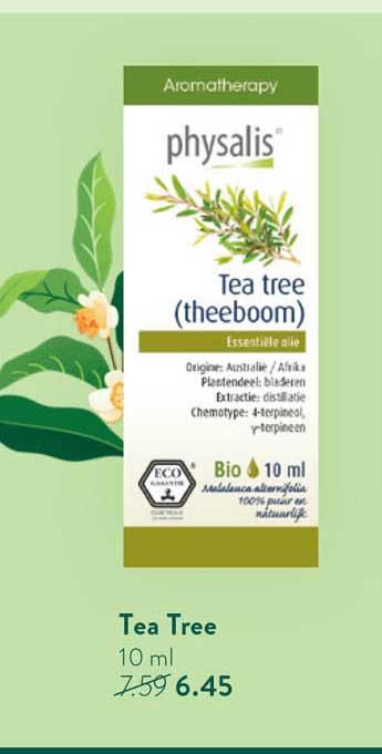 Holland & Barrett Physalis Tea Tree