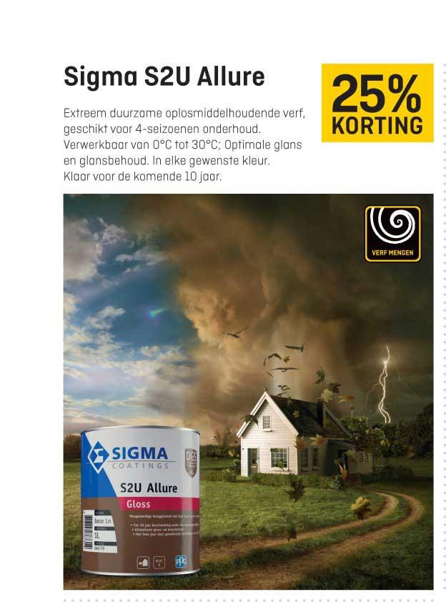 Hubo Sigma S2u Allure: 25% Korting