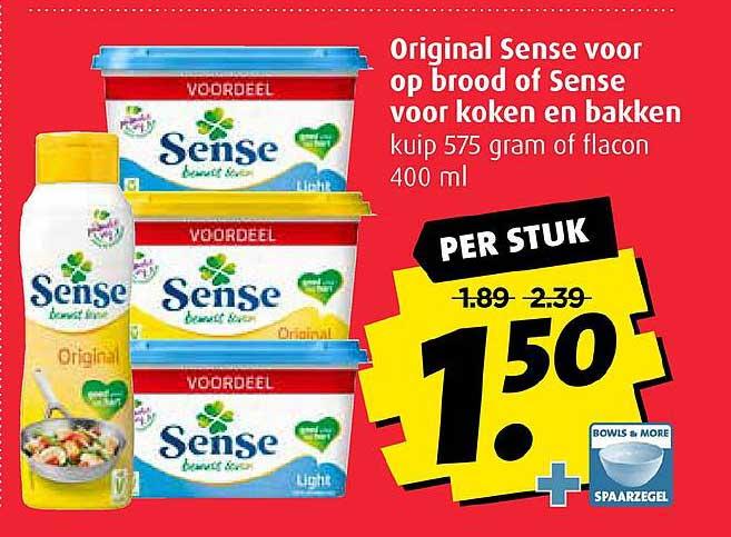 Boni Original Sense Voor Op Brood Of Sense Voor Koken En Bakken