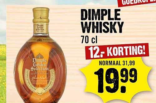 Dirck III Dimple Whisky