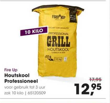 houtskool barbecue folder aanbieding bij Hanos details