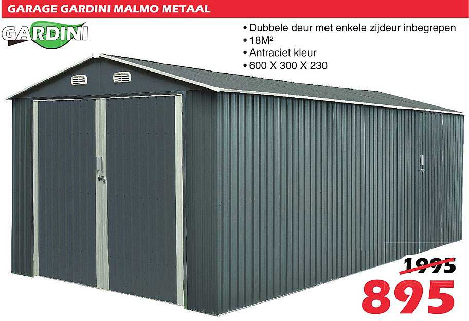 ITEK Garage Gardini Malmo Metaal