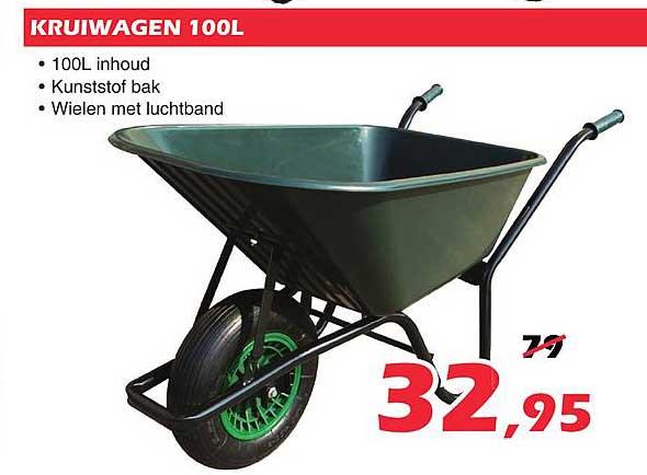 ITEK Kruiwagen 100L